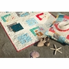 Jay-Cyn Designs for Birch Organic Fabrics, Beyond the Sea, Kelp Coral