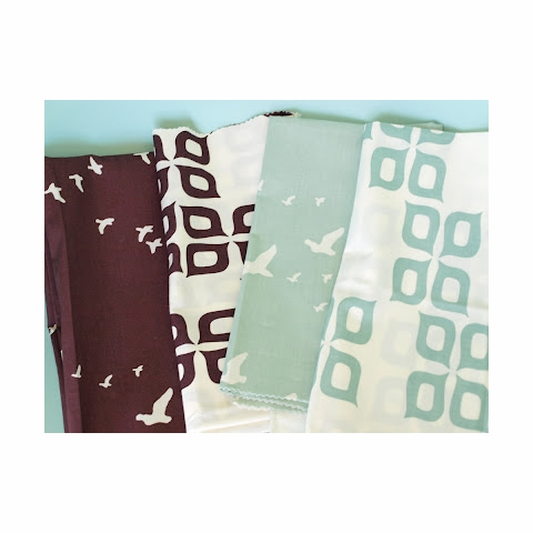 Jay-Cyn Designs for Birch Organic Fabrics, Camp Modern, Flight Mahogany