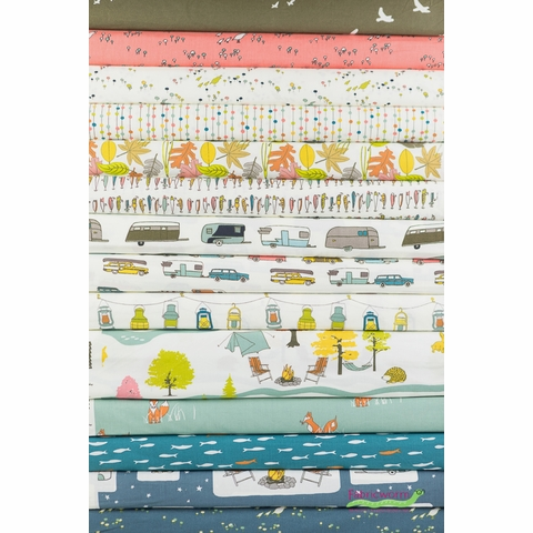 Jay-Cyn Designs for Birch Organic Fabrics, Camp Sur 3 Collection 11 Total