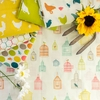 Jay-Cyn Designs for Birch Organic Fabrics, Farm Fresh, Bird Song Multi