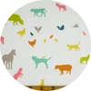 Jay-Cyn Designs for Birch Organic Fabrics, Farm Fresh, Farm Friends Multi