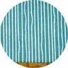 Jay-Cyn Designs for Birch Organic Fabrics, Farm Fresh, Yarn Stripe Teal