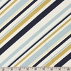 Jay-Cyn Designs for Birch Organic Fabrics, Mod Nouveau, CANVAS, Stripe Mint Metallic