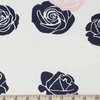 Jay-Cyn Designs for Birch Organic Fabrics, Mod Nouveau, Roses Blush
