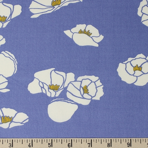 Jay-Cyn Designs for Birch Organic Fabrics, Summer '62, Cali Pop Nightfall
