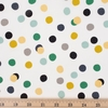 Jay-Cyn Designs for Birch Organic Fabrics, Tonoshi, Mochi Dot Boy Metallic Gold