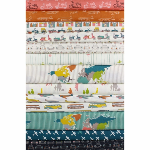 Jay-Cyn Designs for Birch Organic Fabrics, Trans-Pacific 13 Total