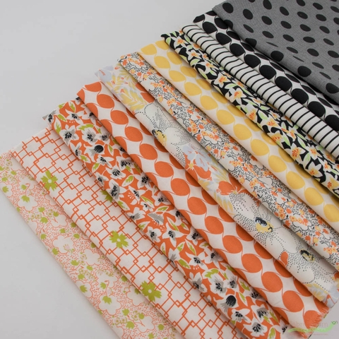 Jen Kingwell for Moda, Fine and Sunny Fabric Bundle 11 Total