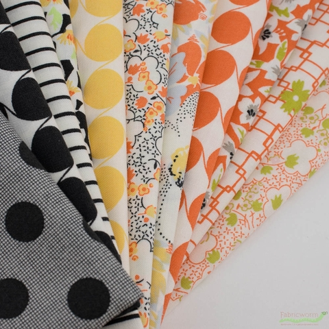 Jen Kingwell for Moda, Fine And Sunny, Picket Charcoal