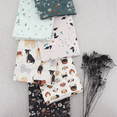 Jenny Ronen for Birch Organic, Dog Park Collection Bundle 6 Total