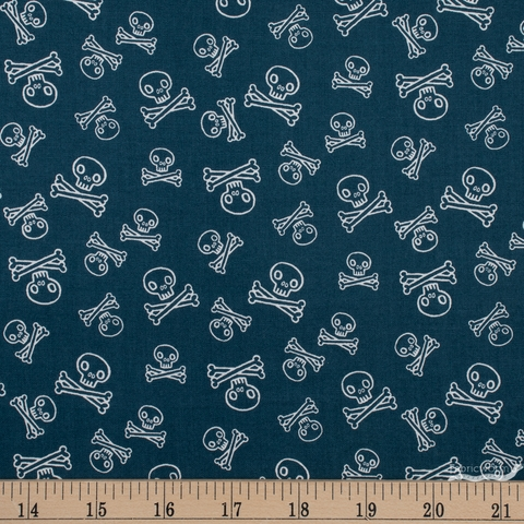 Julia Green for Cotton + Steel, Kraken, Jolly Roger Aruba