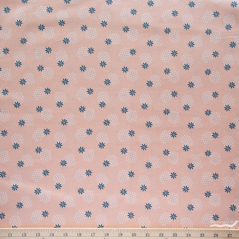 Juliana Tipton for Cotton + Steel, Modern Meadow, Spritely Sprouts Blush