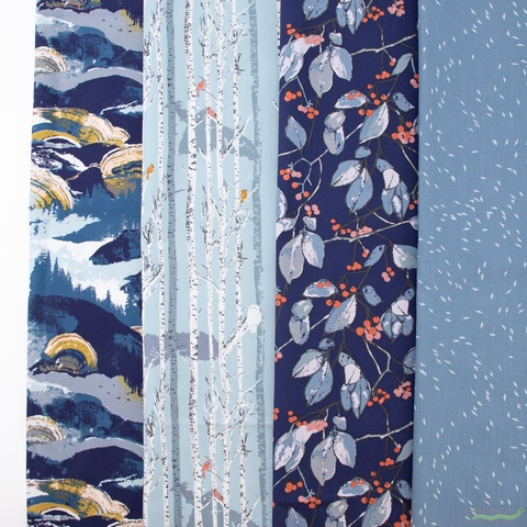 Katarina Roccella for Art Gallery, Earthen in FAT QUARTERS 9 Total