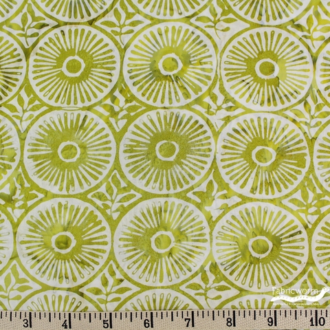 Kate Spain for Moda, Longitude Batiks, Sunshine Citrine