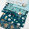 Katherine Quinn for Windham, Whale Tales, Octopus Sea Green
