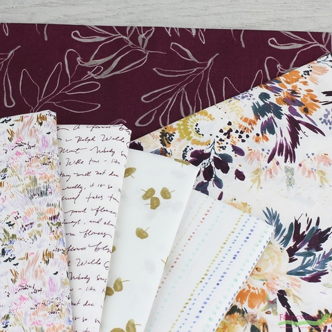 Kelly Ventura for Windham, Botany Entire Collection in PRECUT FAT QUARTERS 25 Total