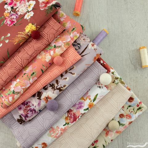 Kelly Ventura for Windham, Wildflower, Linea Coral