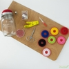 Kikkerland, Mason Jar Sewing Kit