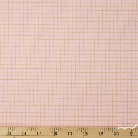 Kimberly Kight for Ruby Star Society, Anagram, Grid Metallic Pink Gold