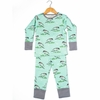 Kinder Birch, Organic Cotton Apparel, Blackburnian Warbler Grow With Me Pajama