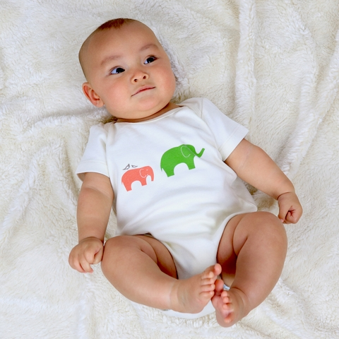 Kinder Birch, Organic Cotton Apparel, Ellie Fam Bodysuit