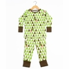 Kinder Birch, Organic Cotton Apparel, Geo Trees Grow With Me Pajama