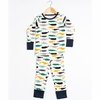 Kinder Birch, Organic Cotton Apparel, Kujira Boy Grow With Me Pajama
