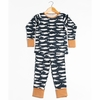 Kinder Birch, Organic Cotton Apparel, Kujira Dusk Grow With Me Pajama