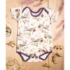 Kinder Birch, Organic Cotton Apparel, Passenger Pigeon Short Bodysuit
