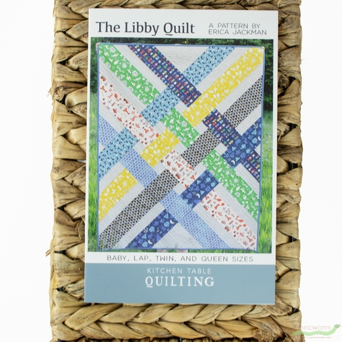Kitchen Table Quilting, Sewing Pattern, The Libby Quilt
