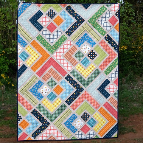 Kitchen Table Quilting, Sewing Pattern, The Penny Quilt