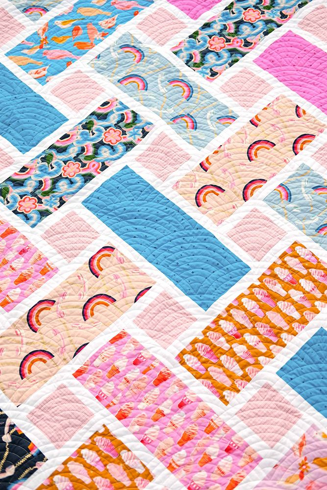 Kitchen Table Quilting Sewing Pattern The Tessa Quilt