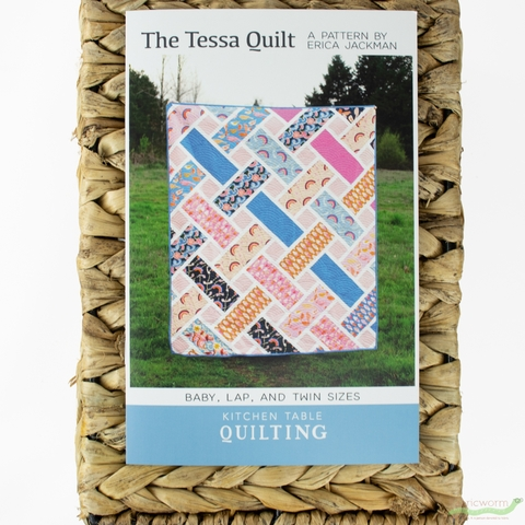 Kitchen Table Quilting, Sewing Pattern, The Tessa Quilt