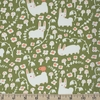 Kristen Balouch for Birch Organic Fabrics, Enchanted Kingdom, Bunny Meadow Moss