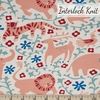 Kristen Balouch for Birch Organic Fabrics, Enchanted Kingdom, KNIT, Hidden Flower Field Cream