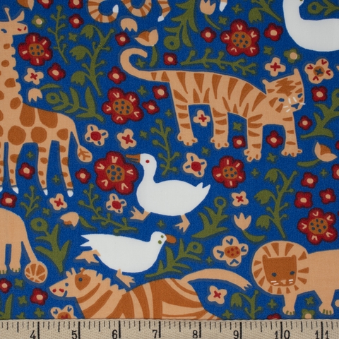 Kristen Balouch for Birch Organic Fabrics, Enchanted Kingdom, Menagerie Royal