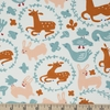 Kristen Balouch for Birch Organic Fabrics, Enchanted Kingdom, Whimsy Burrow
