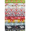 Kristen Balouch for Birch Organic Fabrics, Folkland in FAT QUARTERS 9 Total (PRECUT)