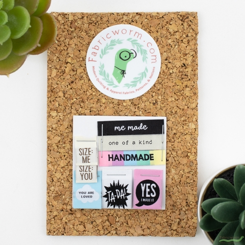 Kylie and the Machine, Woven Labels, Fabricworm Custom Favorites Pack