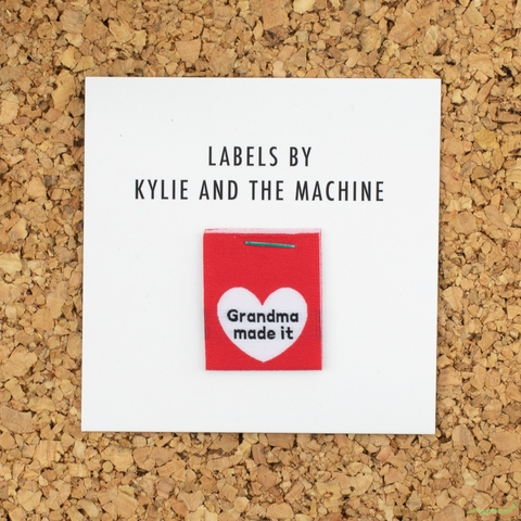 Kylie and the Machine, Woven Labels, Grandma Made It