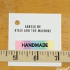 Kylie and the Machine, Woven Labels, Handmade