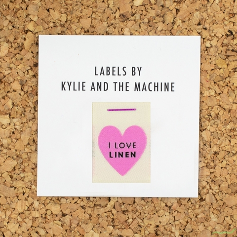 Kylie and the Machine, Woven Labels, I Love Linen