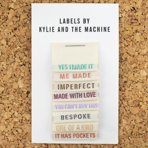 Kylie and the Machine, Woven Labels, Limited Edition Metallic Multi Pack