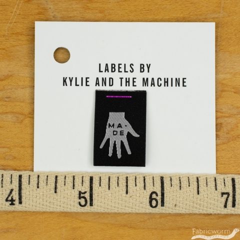 Kylie and the Machine, Woven Labels, Made