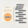 Kylie and the Machine, Woven Labels, Made With Love + Swear Words