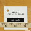 Kylie and the Machine, Woven Labels, Me Made