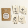 Kylie and the Machine, Woven Labels, Natural Fibers Cotton Collection