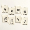 Kylie and the Machine, Woven Labels, Natural Fibers Single Label