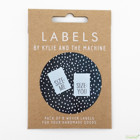 Kylie and the Machine, Woven Labels, Size: Me/You