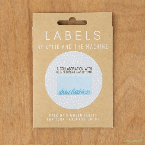 Kylie and the Machine, Woven Labels, Slow Fashion